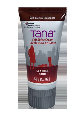 Tana Crème autolustrante brun foncé