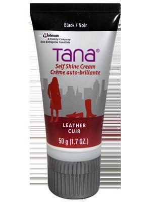 Tana Crème autolustrante noir