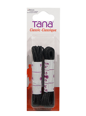 Tana classic lacets ronds 36in 2pair noir