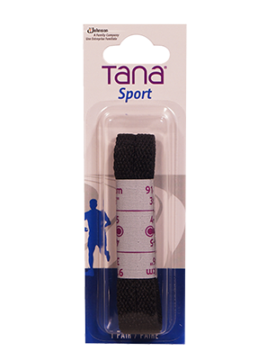 tana laces flat 36 black