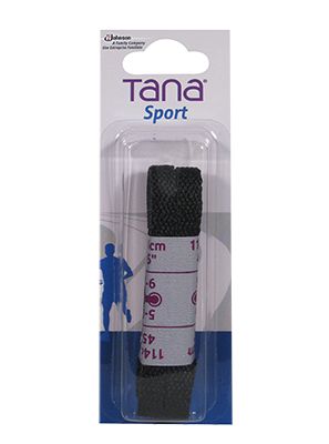 tana laces flat 45 black