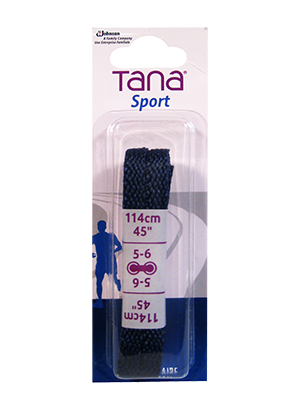 tana lacets plats emballage assorti 40 marine