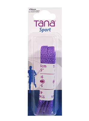 tana lacets plats emballage assorti 40 violet