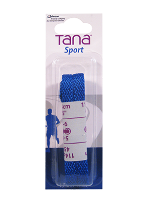 tana lacets plats emballage assorti 45 bleu royal