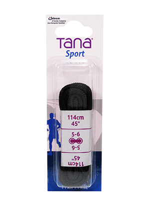 tana laces oval 45 black