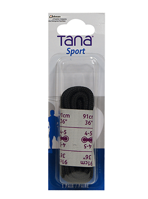 tana laces oval 36 black