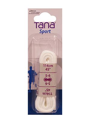 tana laces round 45 white
