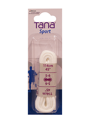 tana lacets ronds 45 blanc