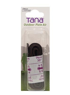 tana outdoor lacets botte de randonnée rond 30noir brun