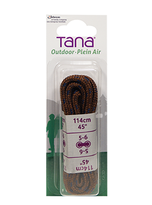 tana outdoor laces hiking boot round 36 brown black