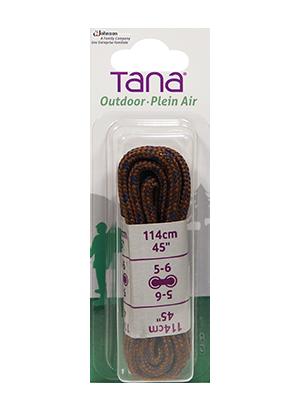 tana outdoor lacets botte de randonnée rond 36 brun noir