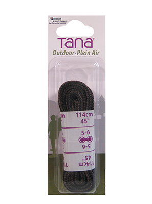 tana outdoor laces hiking boot round 45 brown black