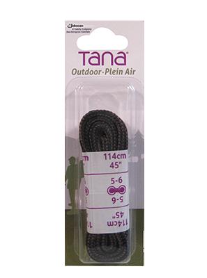 tana outdoor lacets botte de randonnée rond 45 brun noir