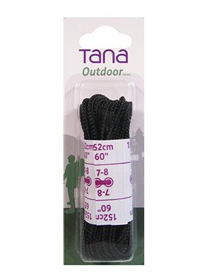 tana outdoor lacets botte de randonnée rond 60noir