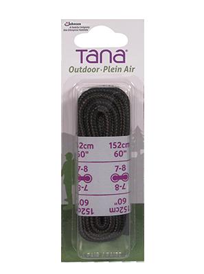 tana outdoor lacets botte de randonnée rond 60 brun noir