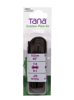 tana outdoor laces hiking boot round 60 brown