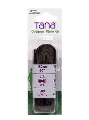 tana outdoor lacets botte de randonnée rond 60 brun