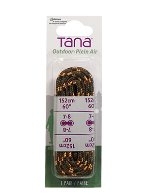 tana outdoor lacets botte de randonnée rond 60 multi