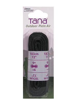 tana outdoor lacets botte de travail rond 72 noir